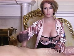 Mistress T for your last orgasm, loser